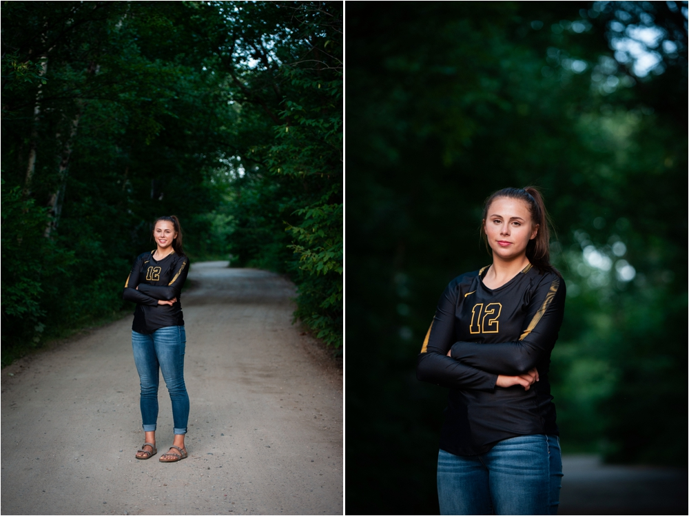 volleyball senior photos