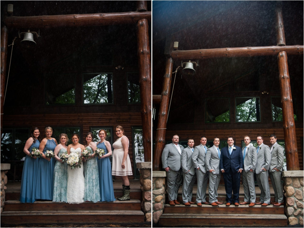 camp foley mn wedding